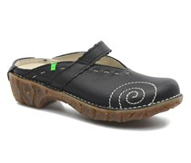 Yggdrasil N096 Clogs & Pantoletten in schwarz