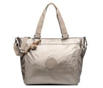 New Shopper L Handtasche in silber