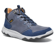 Arrowood Lux Mid WP Sneaker in blau