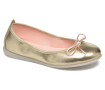 Ainara Ballerinas in goldinbronze