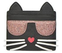 Kocktail Cat Portemonnaies & Clutches für Taschen in schwarz