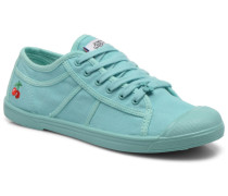 Basic 02 Mono Sneaker in grün