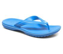 Crocband Flip M Zehensandalen in blau