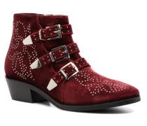 Bonnie Stiefeletten & Boots in weinrot