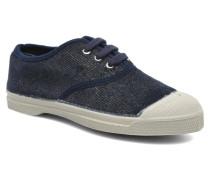Tennis Shinny E Sneaker in blau