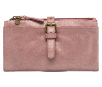 Venus Leather Wallet Portemonnaies & Clutches in rosa