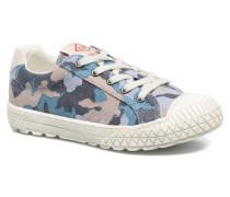 Tudy Print Sneaker in blau