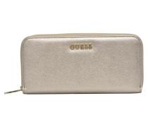 Isabeau Large zip around Portemonnaies & Clutches für Taschen in silber