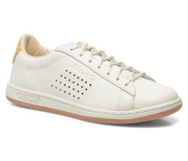Arthur Ashe Raffia Sneaker in weiß