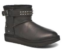W Neva Deco Studs Stiefeletten & Boots in schwarz