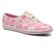 Ch Daisy Embroidery Sneaker in rosa