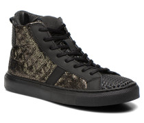 New Man High Fantasy Sneaker in silber