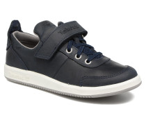 Court Side Oxford winStrap Sneaker in blau