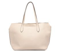 Sac Shopper Handtasche in beige