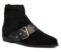 Gigi Hadid Flat Boot Stiefeletten & Boots in schwarz