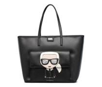 Ikonik Shoppper Handtaschen für Taschen in schwarz