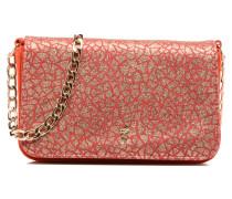 Crossbody suède Handtaschen für Taschen in orange