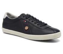 Spindle Leather Sneaker in blau