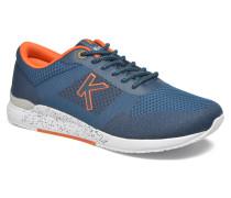 Knitwear Sneaker in blau