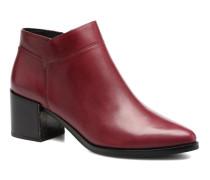 Freda Calf Stiefeletten & Boots in rot