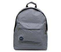 Custom Prints Microdots Backpack Rucksack in blau