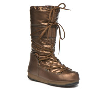 Soft Met Stiefel in goldinbronze