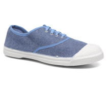 Tennis Déperlantes Sneaker in blau