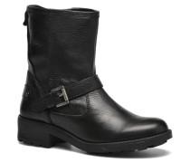 Agra Solid Stiefeletten & Boots in schwarz