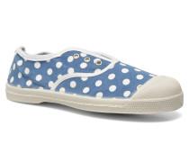 Elly Pois E Sneaker in blau