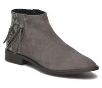 Derika Leather Boot Stiefeletten & Boots in grün
