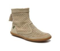 El Viajero N262 W Stiefeletten & Boots in beige