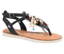 Honololu Sandalen in schwarz