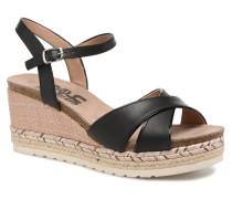 Wuge Sandalen in schwarz