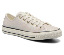 Chuck Taylor All Star Ox Oil Slick Leather W Sneaker in weiß