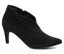 Manon Leather Boot Stiefeletten & Boots in schwarz