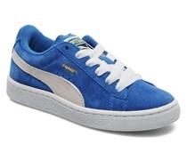 Suede Jr. Sneaker in blau
