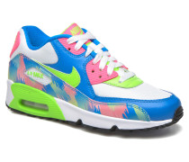 Air Max 90 Print Mesh Gs Sneaker in mehrfarbig
