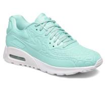 W Air Max 90 Ultra Plush Sneaker in blau