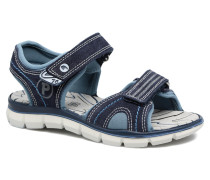 Polo Sneaker in blau