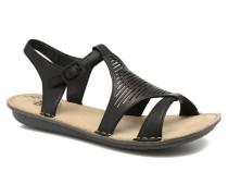 Zaharia Sandalen in schwarz