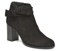 Fena Leather Boot Stiefeletten & Boots in schwarz