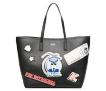 Jet Karl Shopper Handtaschen für Taschen in schwarz