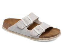 Arizona textile Sandalen in grau