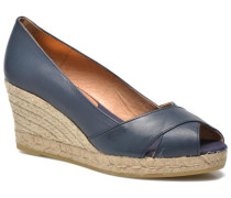 Madame Pumps in blau