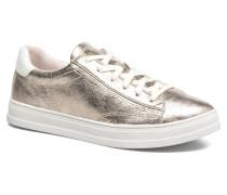 Sidney Lace Up Sneaker in beige