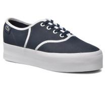 Rene Platform 216 C Sneaker in blau