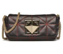 Le Copain Clou bicolore Porté travers Handtaschen für Taschen in schwarz