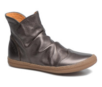 New School Pleats Stiefeletten & Boots in silber