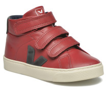 ESPLAR MID SMALL VELCRO LEATHER Sneaker in rot