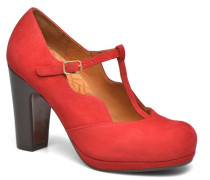 Ruana Pumps in rot